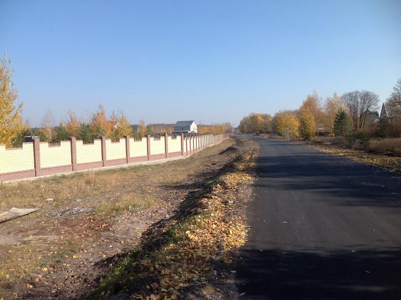 Вид на уличн забор